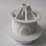 Urinal Waste White Plastic Domed 40mm 1.1/2 - 74000540
